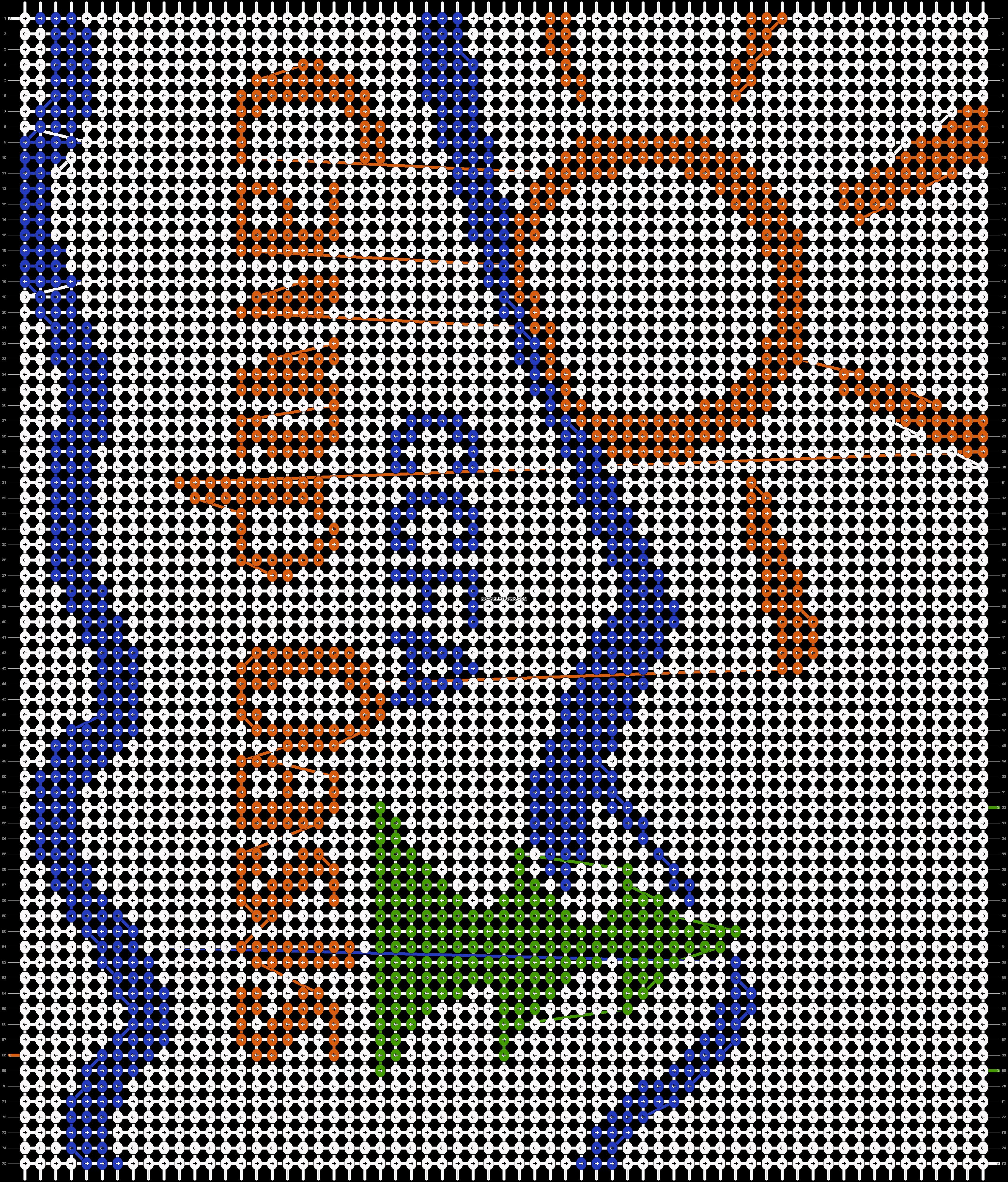 Alpha pattern #16686 pattern