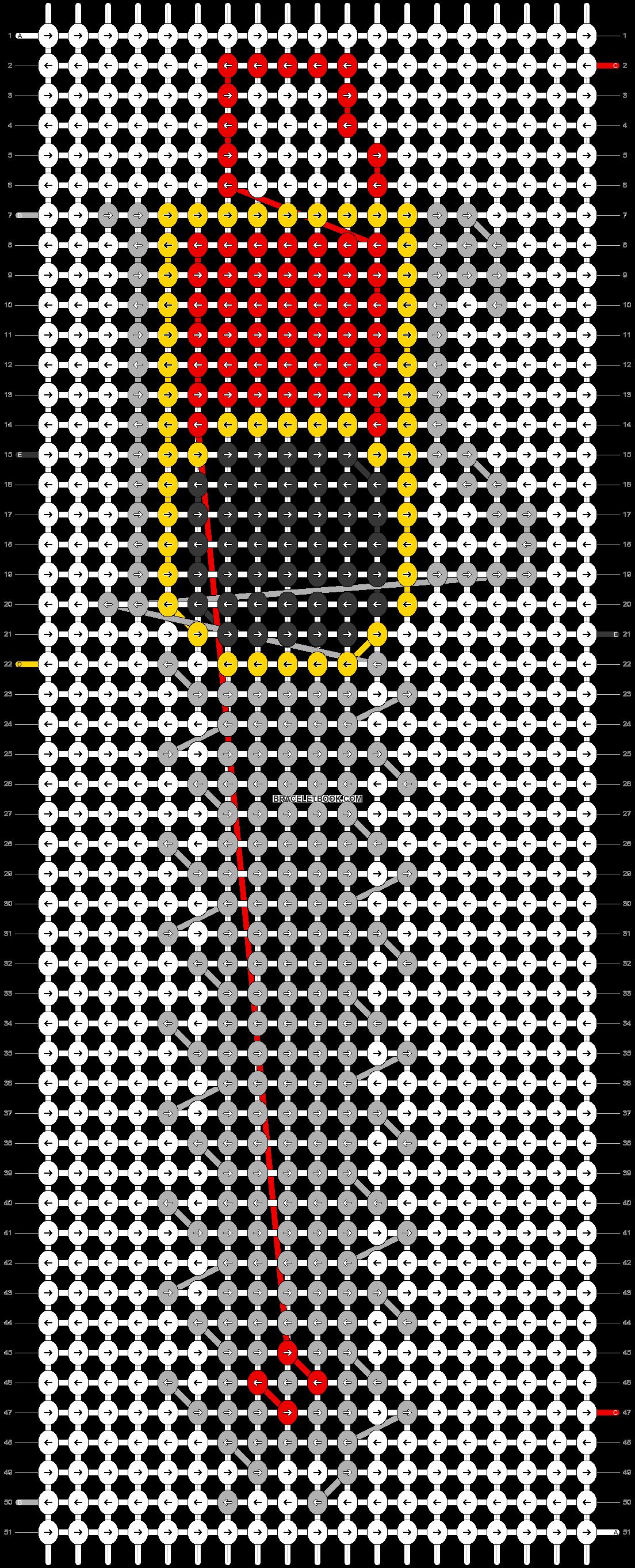 Alpha pattern #16709 pattern