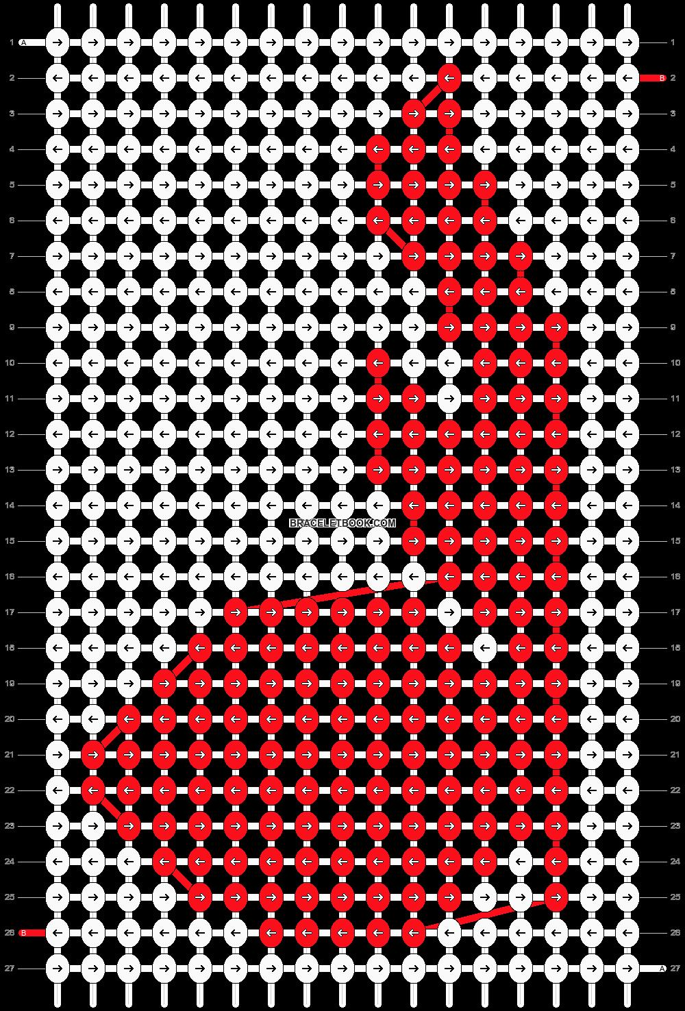 Alpha pattern #16715 pattern