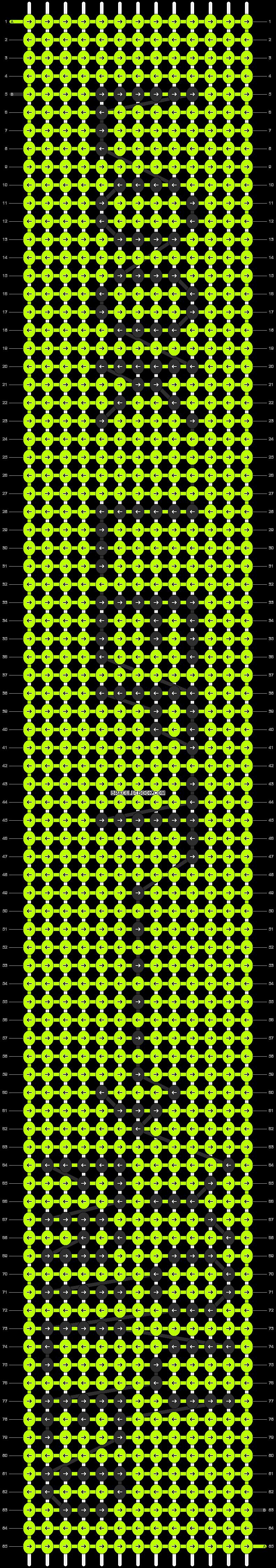 Alpha pattern #16732 pattern