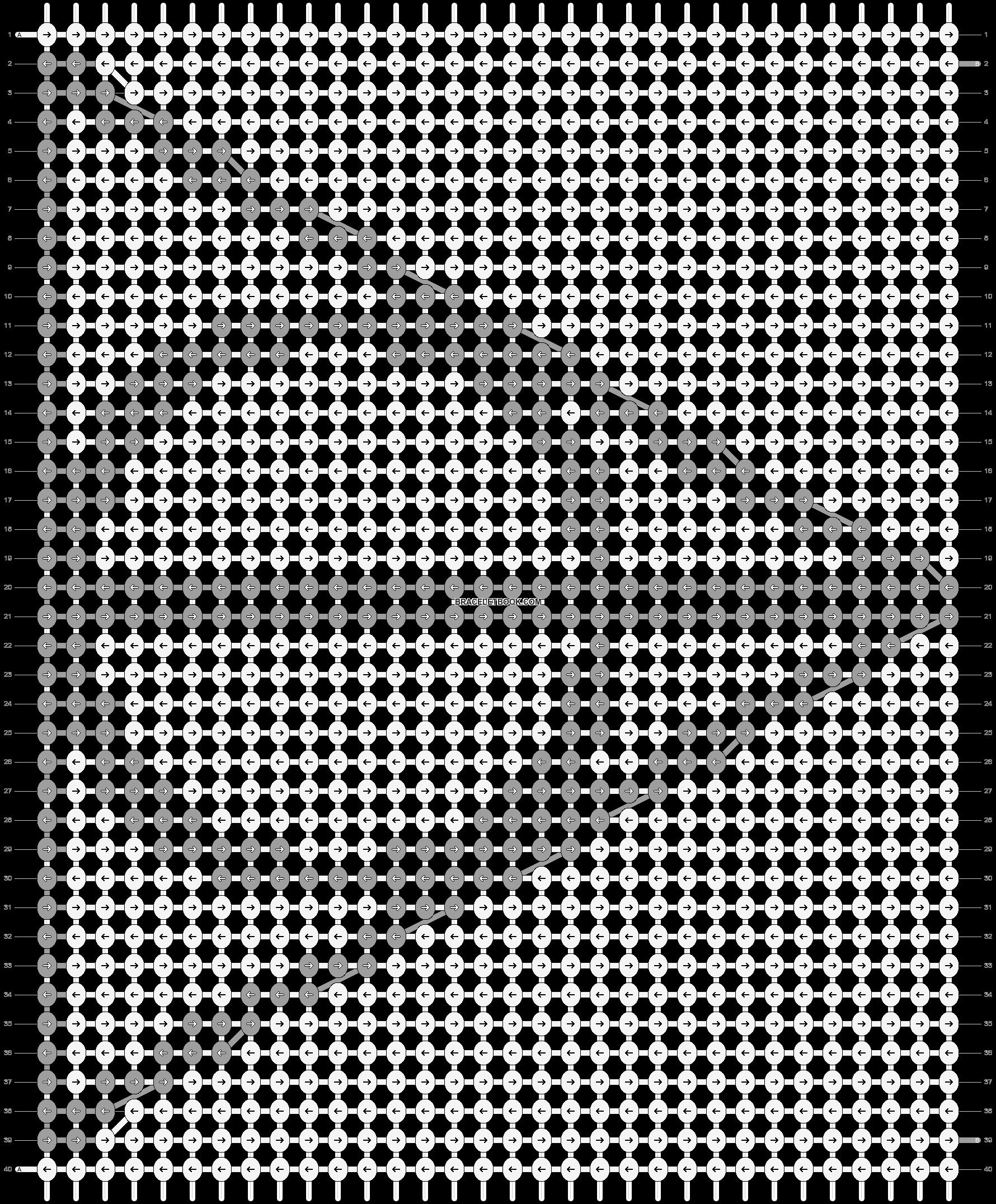Alpha pattern #16733 pattern