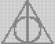 Alpha Friendship Bracelet Pattern #16733