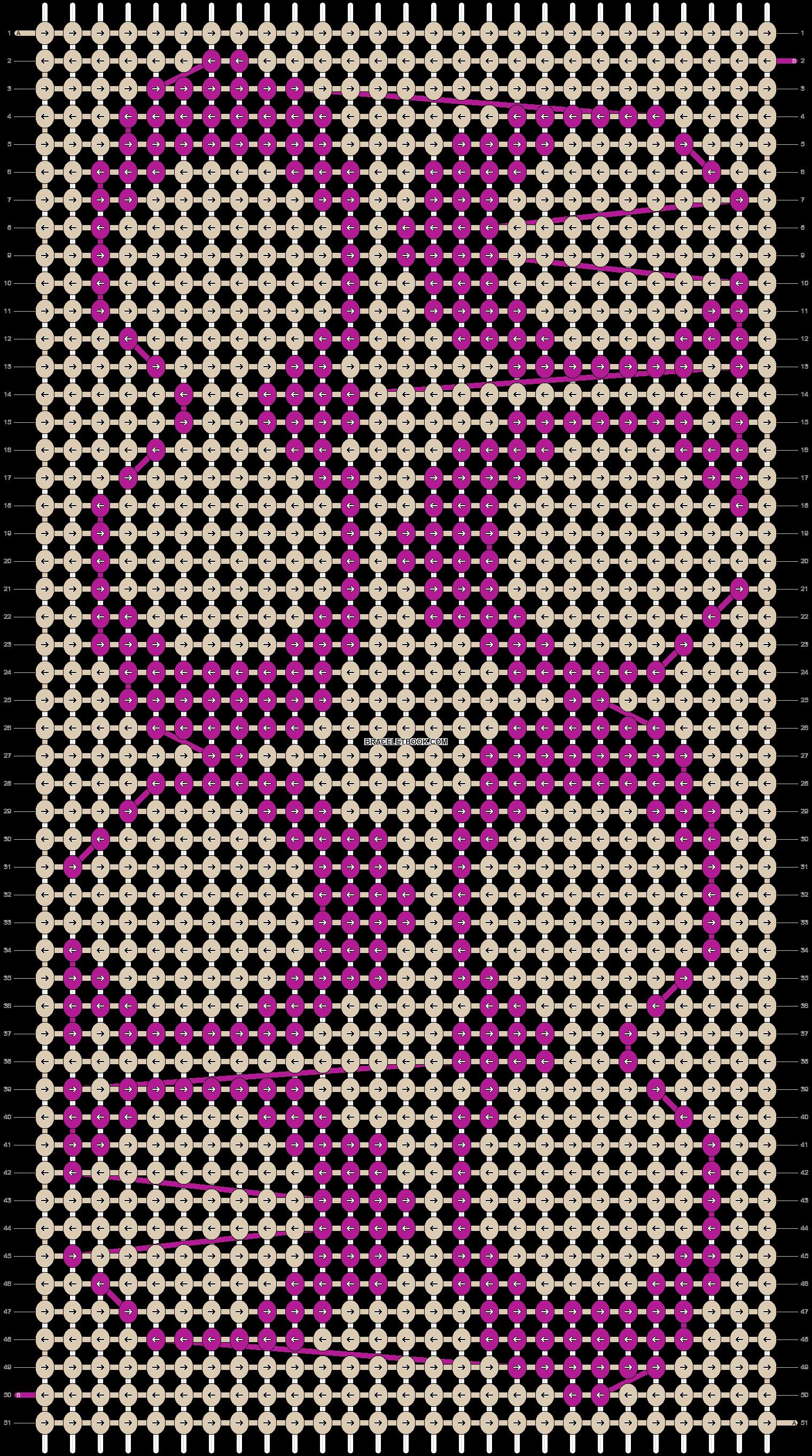 Alpha pattern #16734 pattern