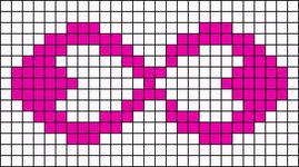 Alpha Friendship Bracelet Pattern #16745