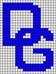 Alpha Friendship Bracelet Pattern #16748