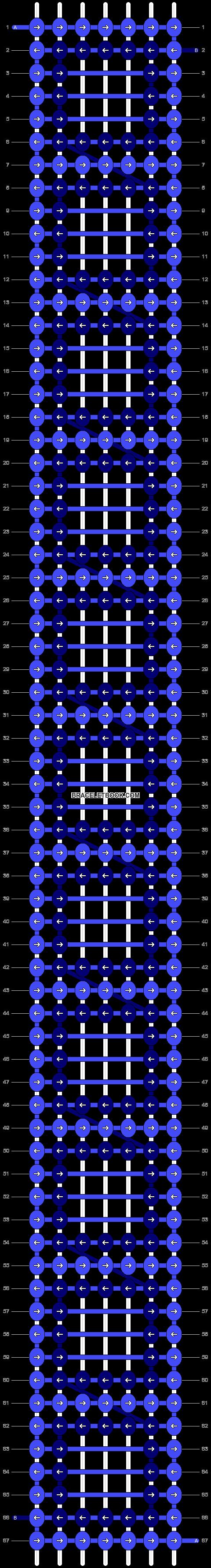 Alpha pattern #16750 pattern