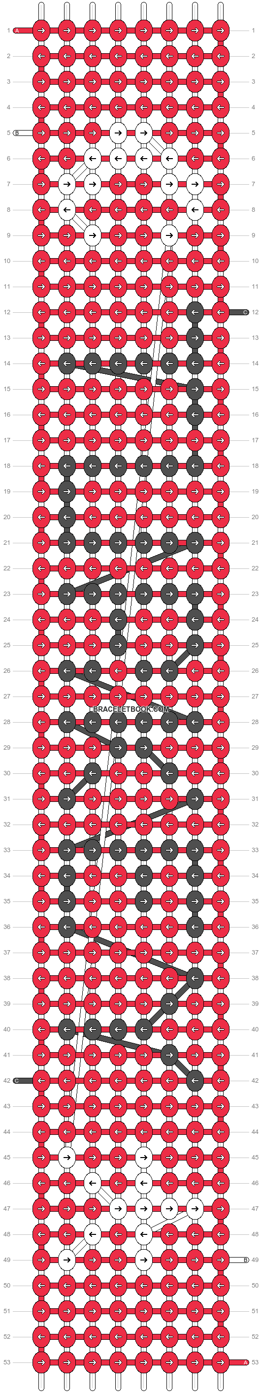 Alpha pattern #16754 pattern