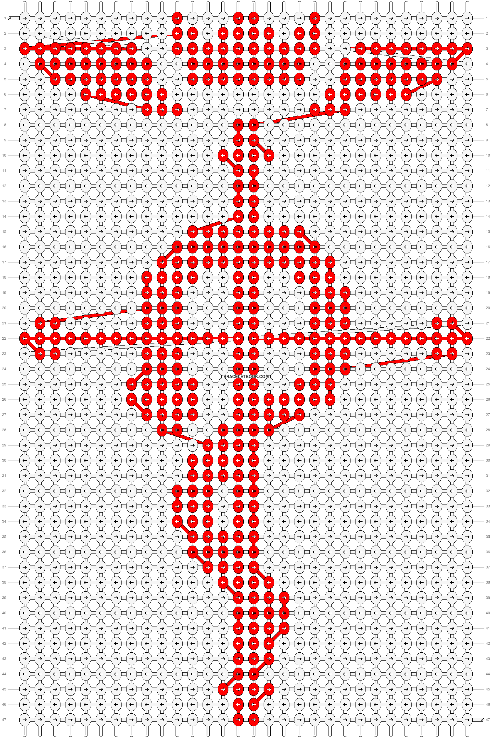 Alpha pattern #16770 pattern