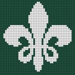 Alpha Friendship Bracelet Pattern #16771