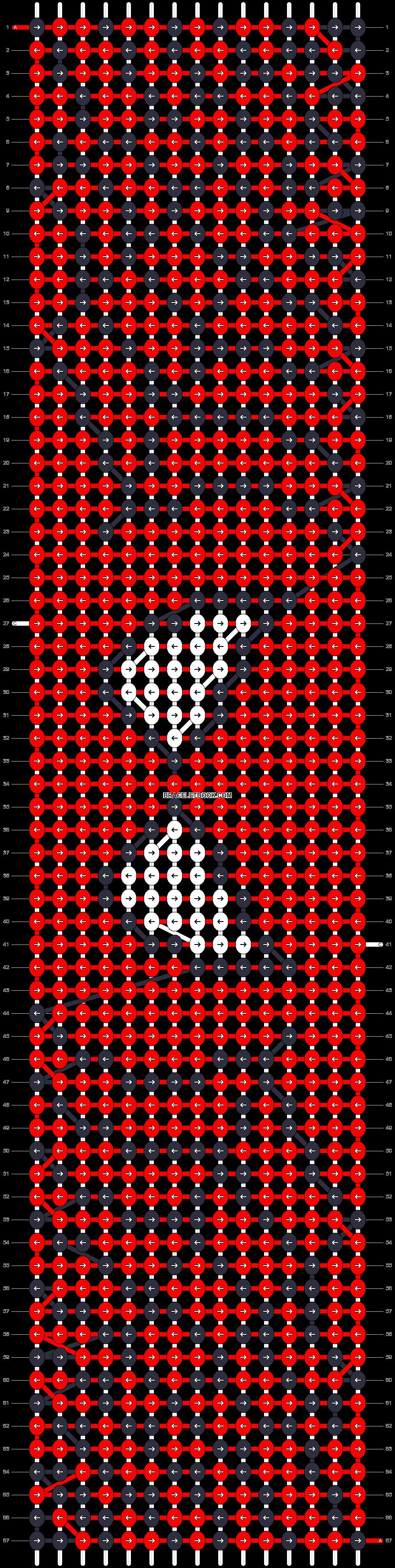Alpha pattern #16776 pattern