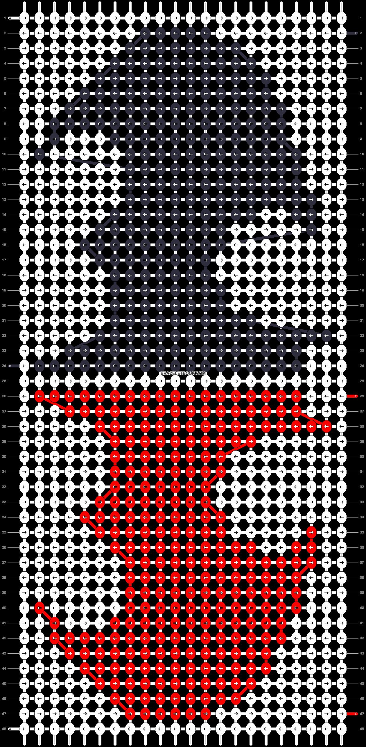 Alpha pattern #16778 pattern