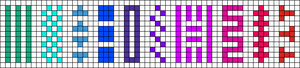 Alpha pattern #16783