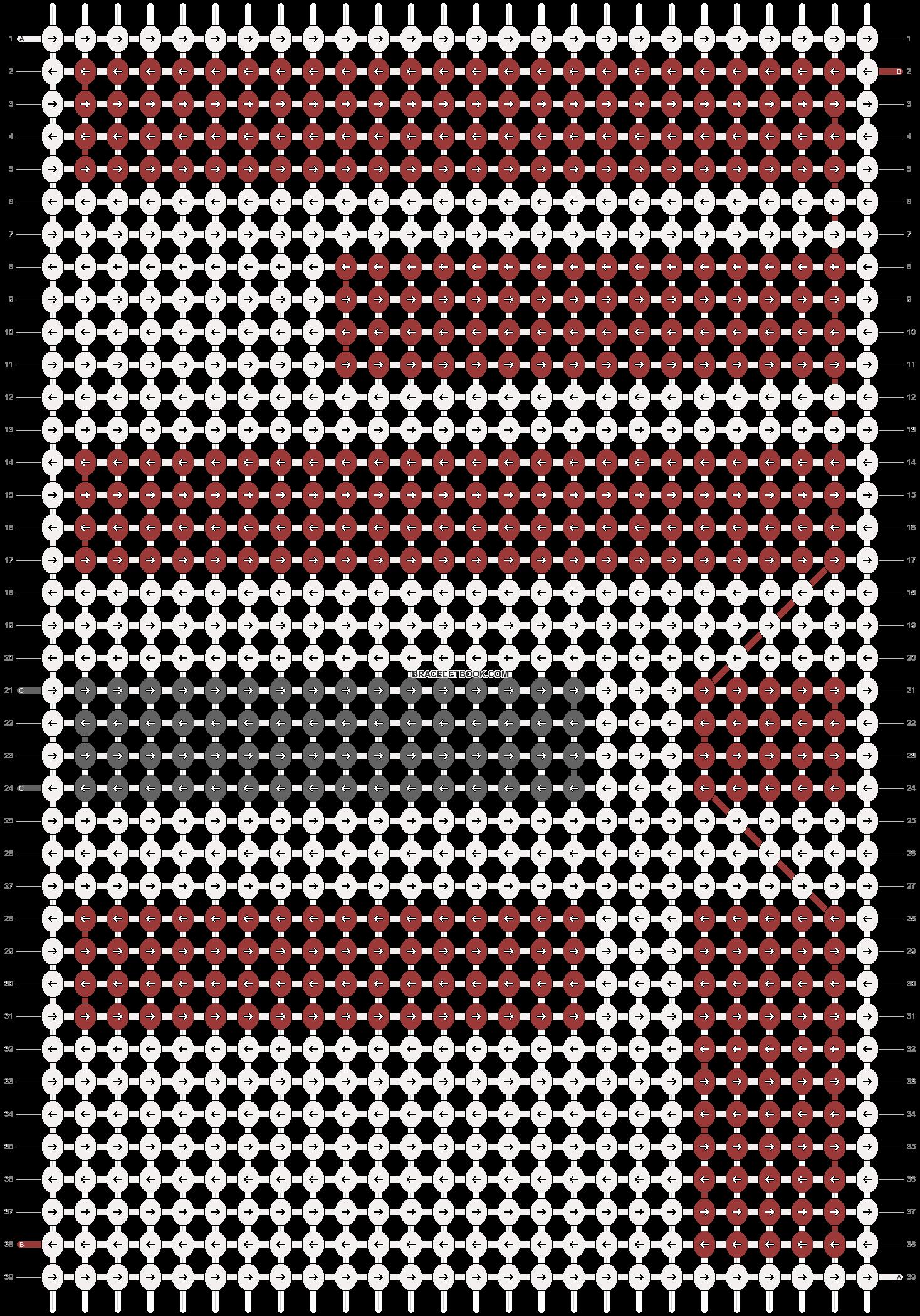 Alpha pattern #16788 pattern