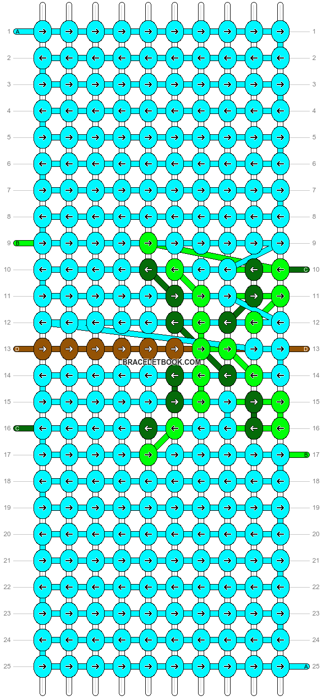 Alpha pattern #16814 pattern