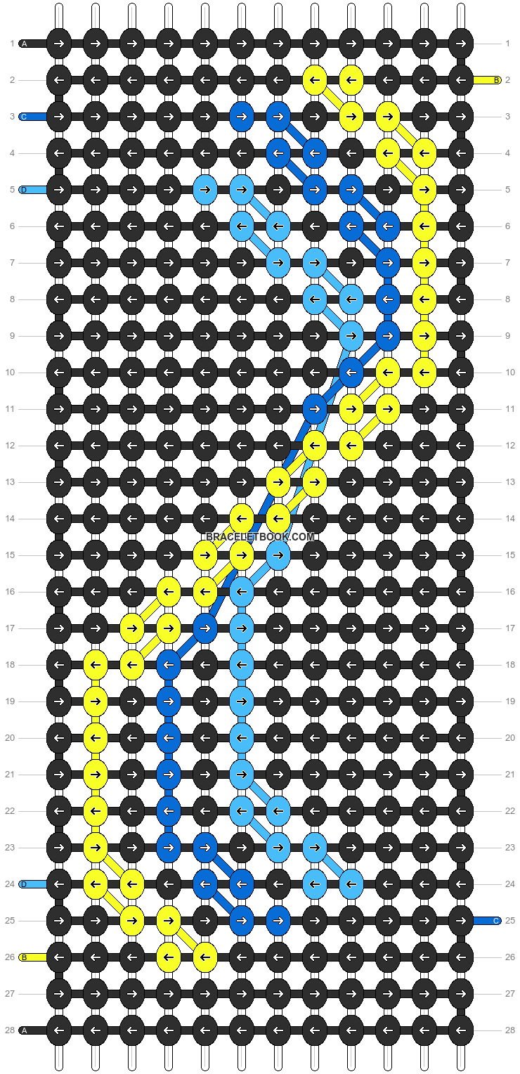 Alpha pattern #16817 pattern
