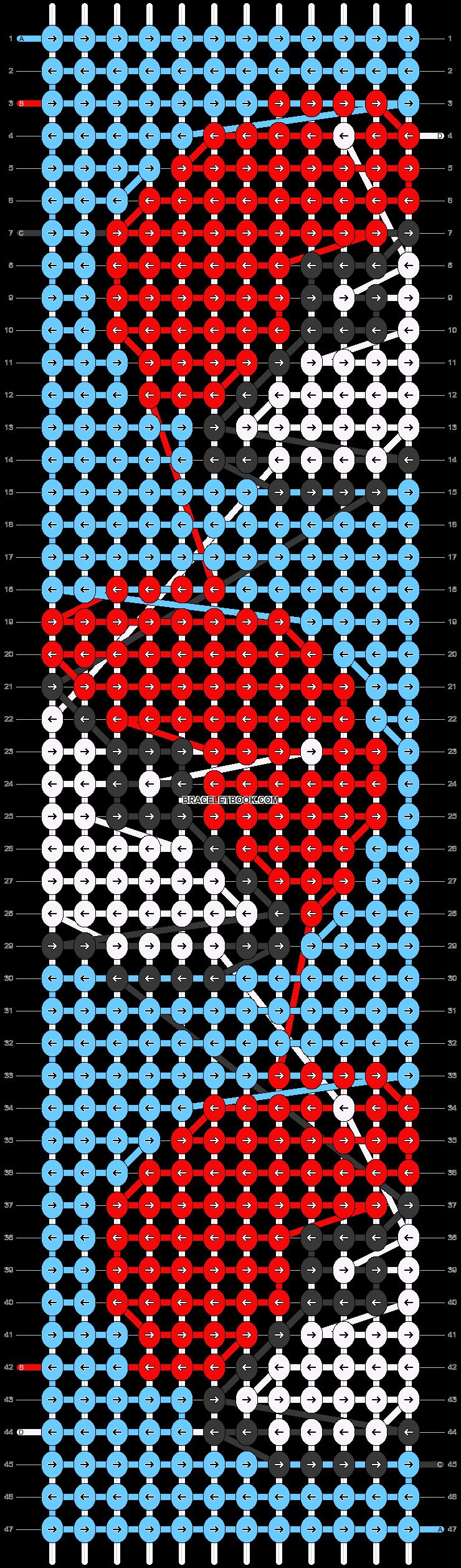 Alpha pattern #16837 pattern