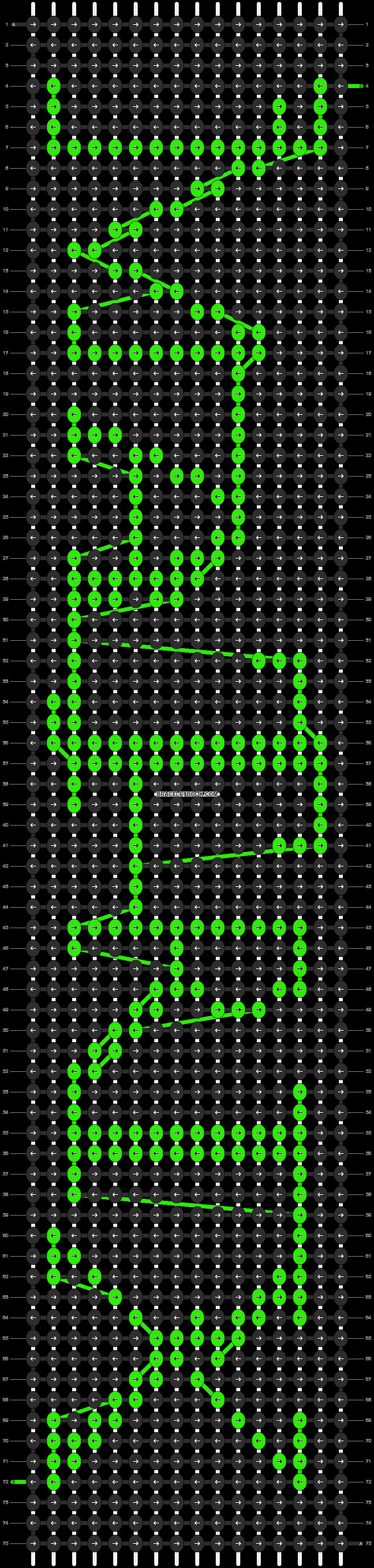 Alpha pattern #16842 pattern