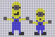 Alpha Friendship Bracelet Pattern #16844