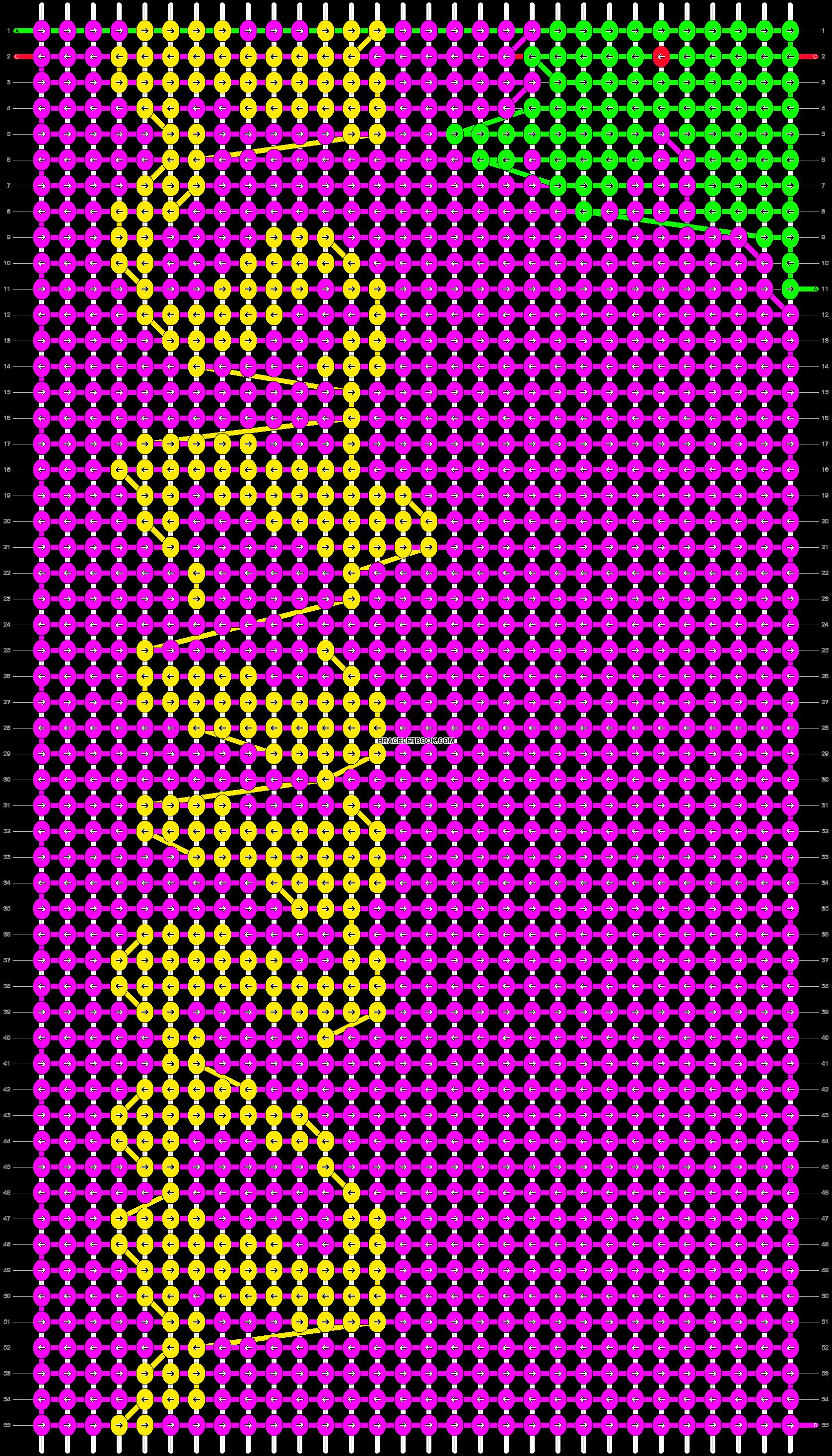 Alpha pattern #16846 pattern