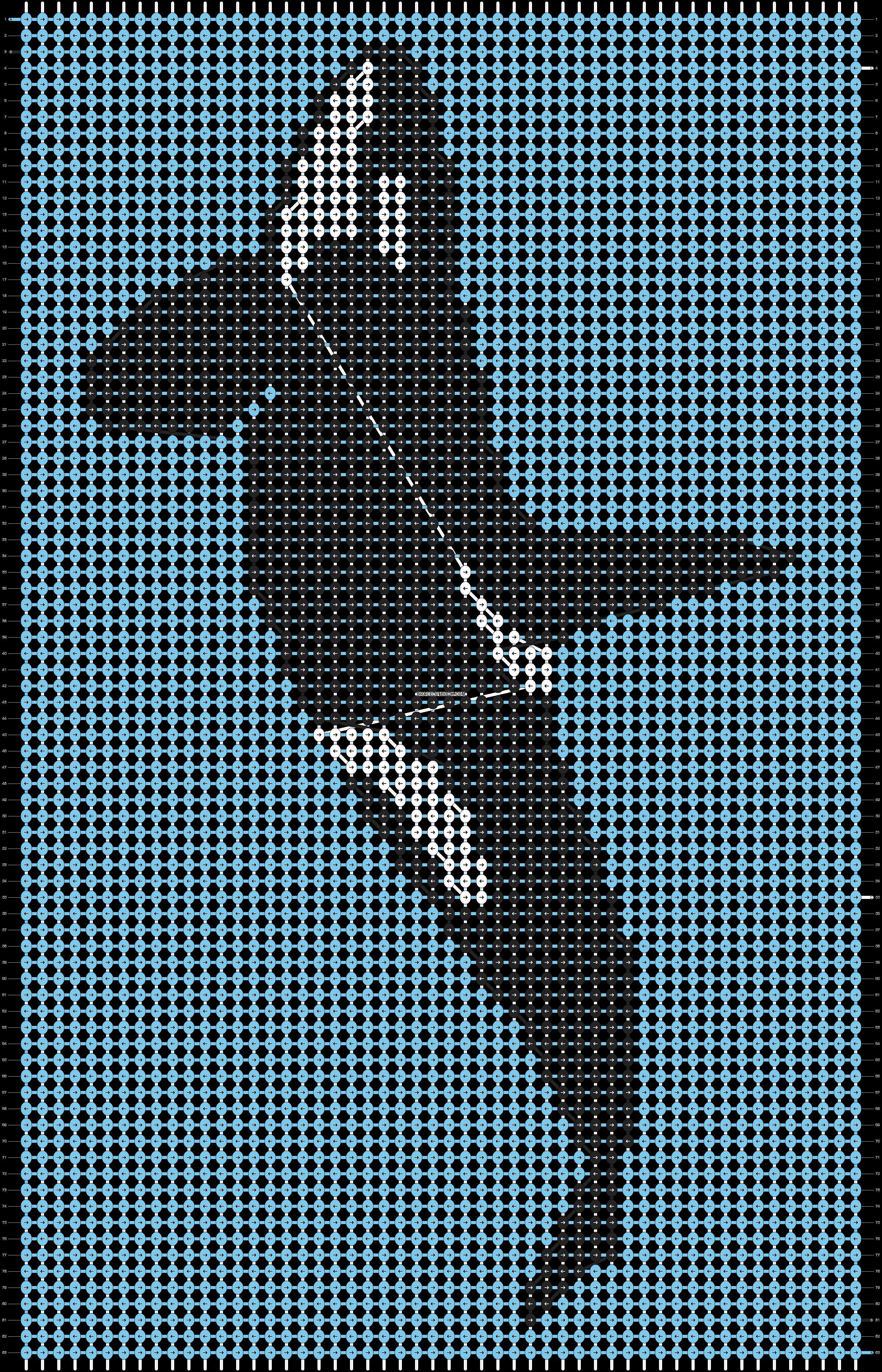 Alpha pattern #16850 pattern