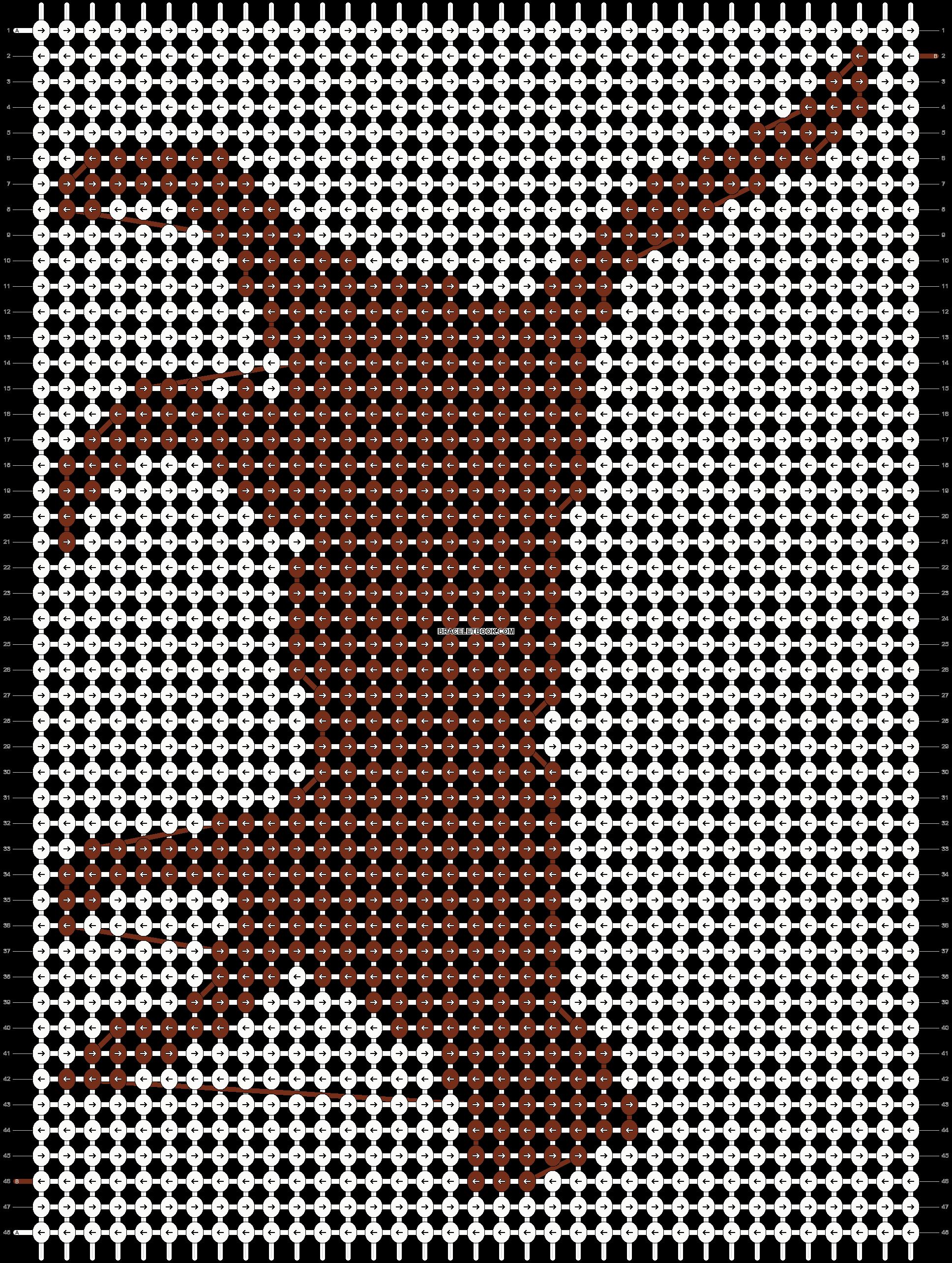 Alpha pattern #16853 pattern