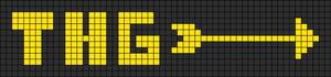 Alpha Friendship Bracelet Pattern #16854