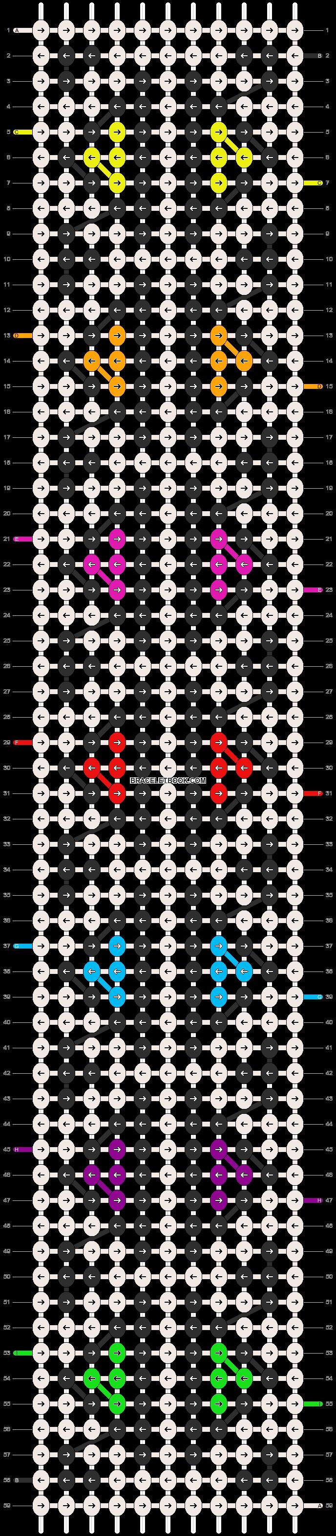 Alpha pattern #16857 pattern