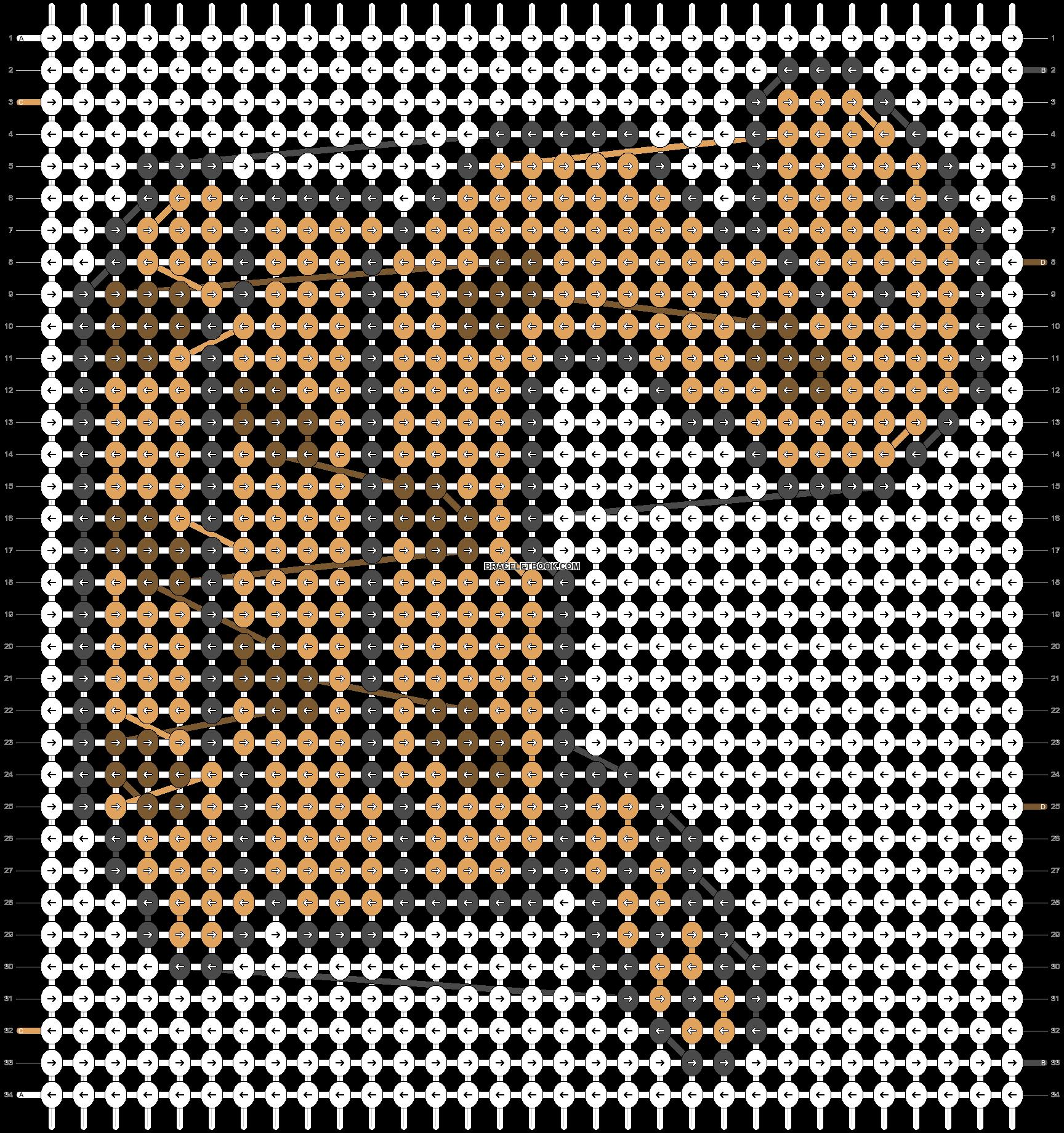 Alpha pattern #16860 pattern