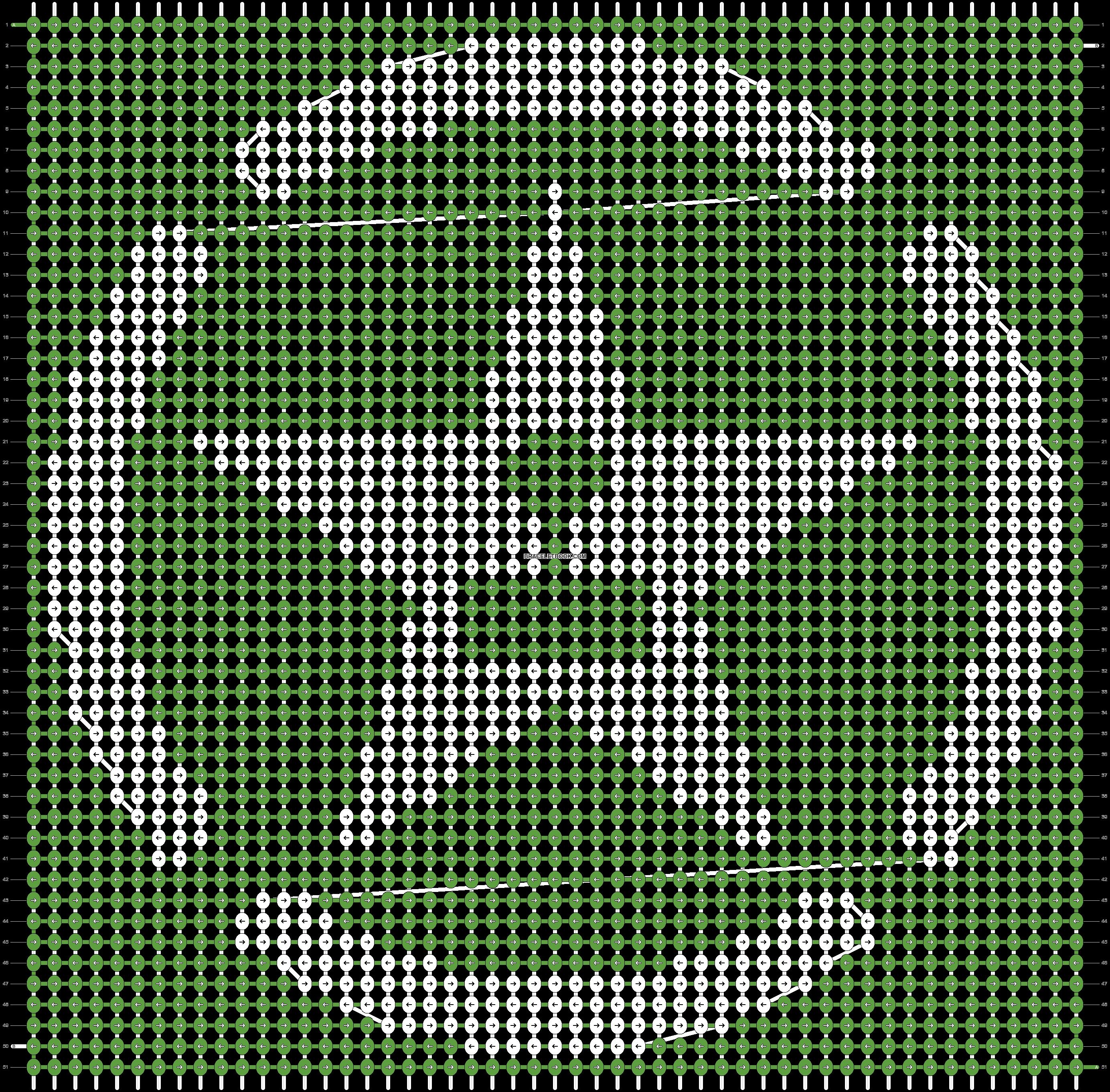 Alpha pattern #16886 pattern