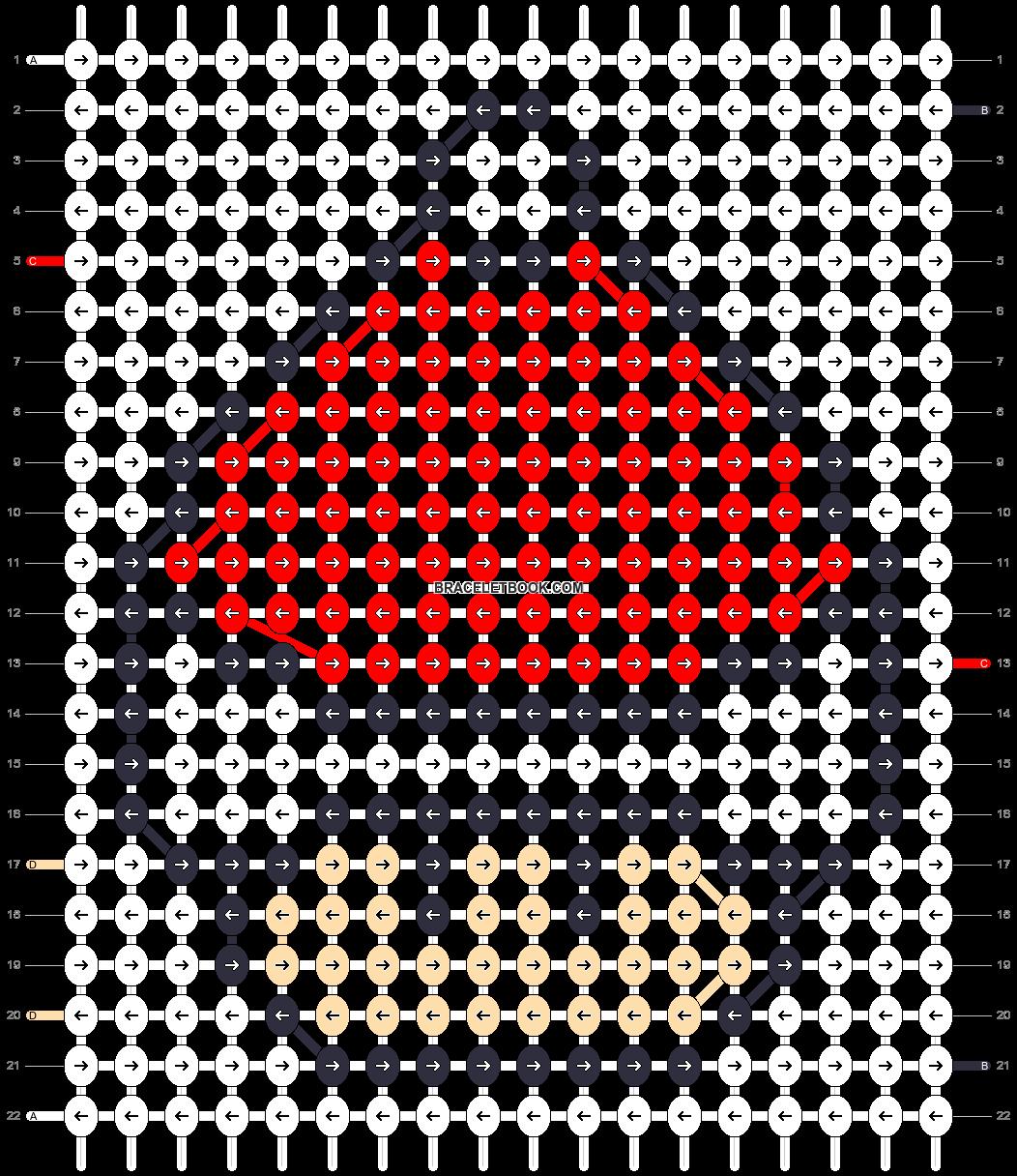 Alpha pattern #16897 pattern