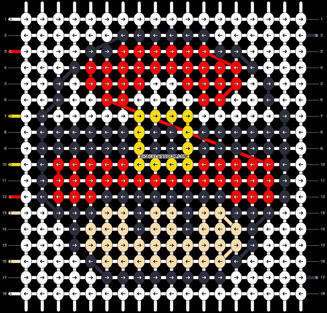 Alpha pattern #16898 pattern