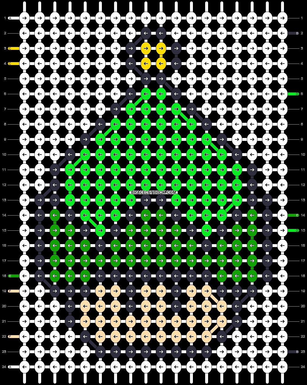 Alpha pattern #16899 pattern