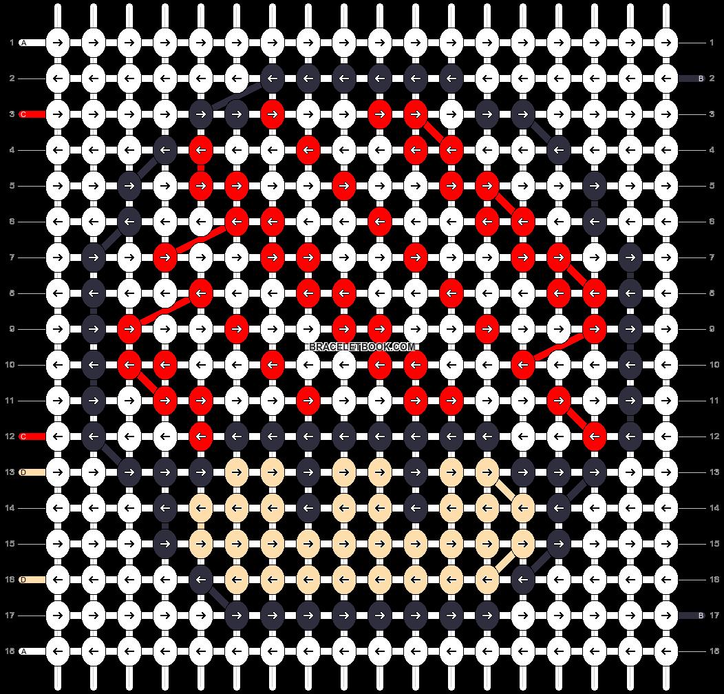 Alpha pattern #16901 pattern