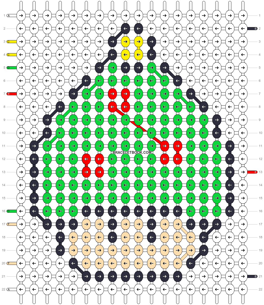 Alpha pattern #16902 pattern