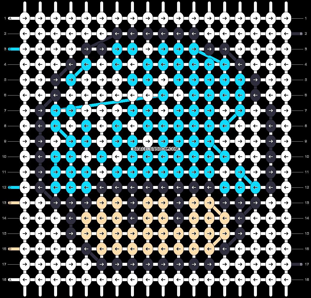 Alpha pattern #16906 pattern