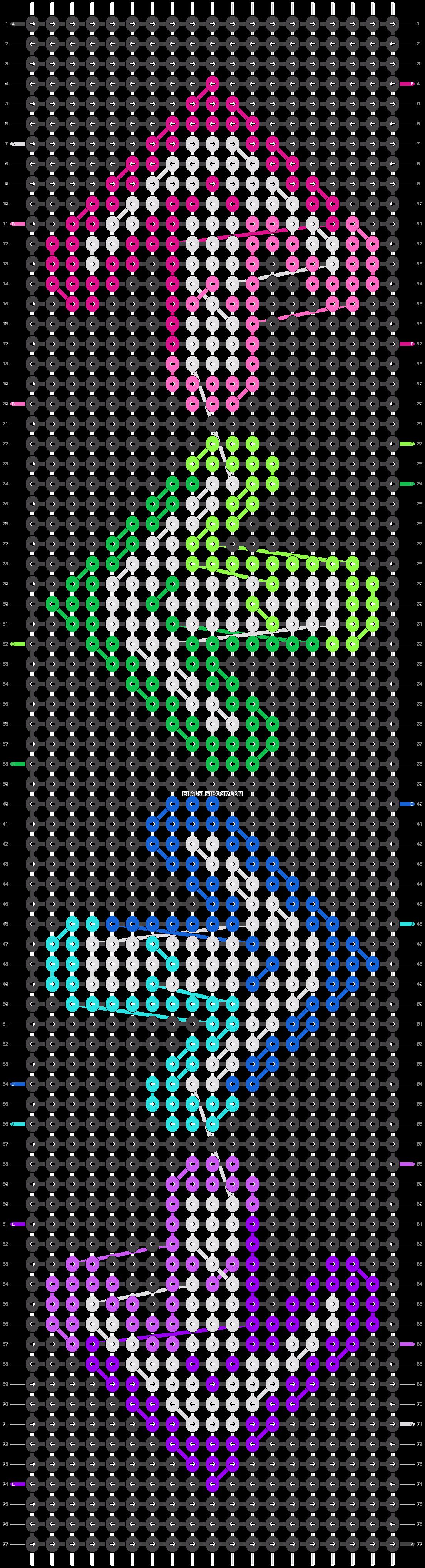 Alpha pattern #16912 pattern