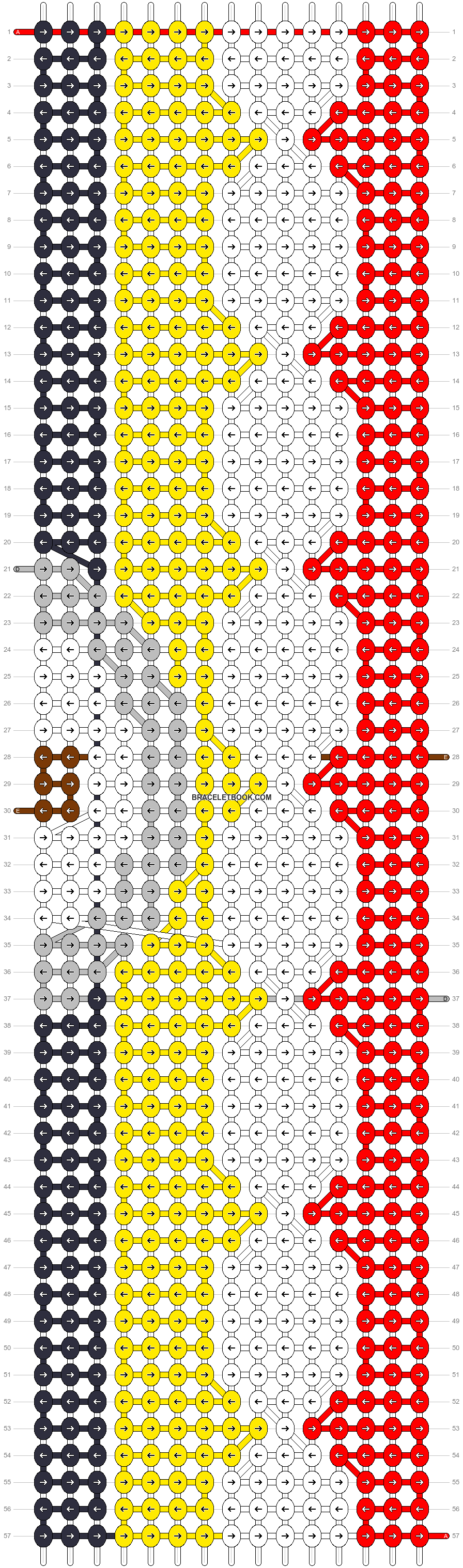 Alpha pattern #16921 pattern