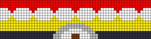 Alpha Friendship Bracelet Pattern #16921