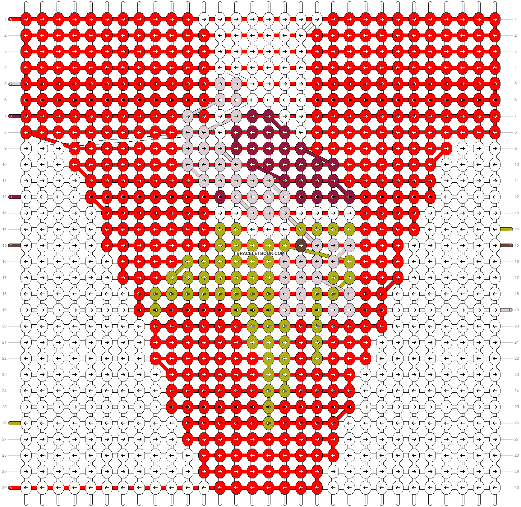 Alpha pattern #16922 pattern