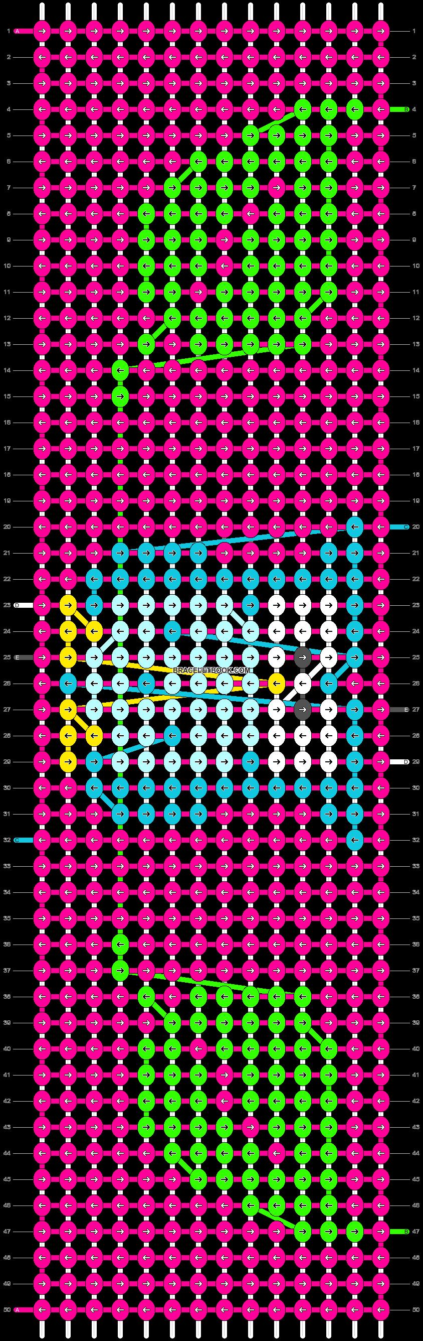 Alpha pattern #16928 pattern