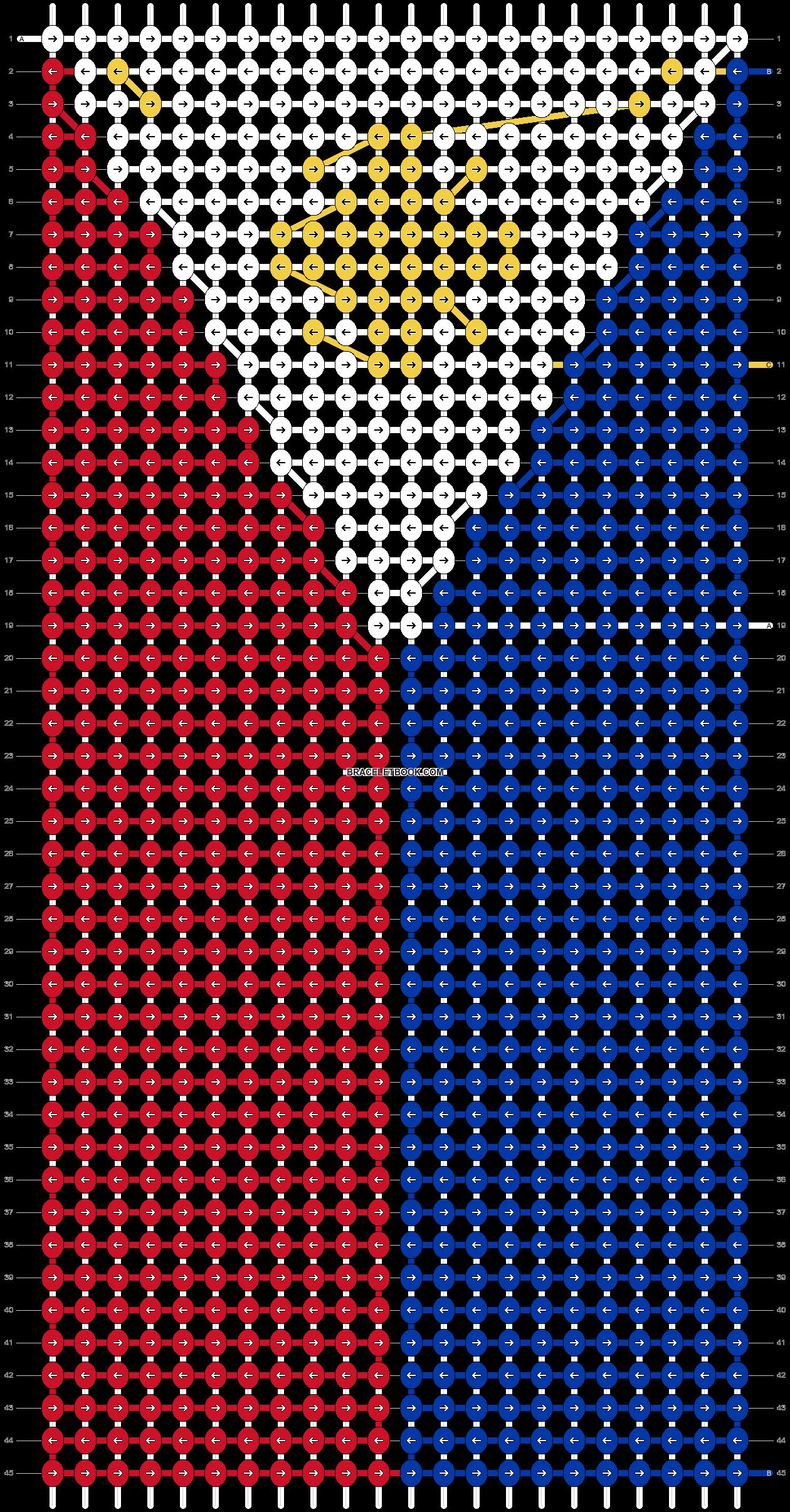 Alpha pattern #16933 pattern