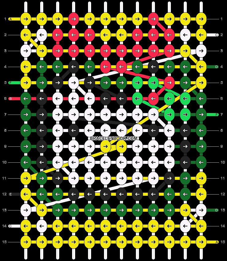 Alpha pattern #16935 pattern