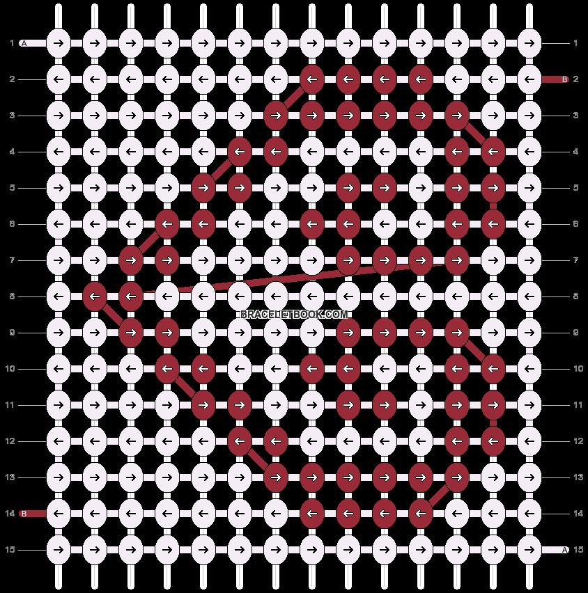 Alpha pattern #16943 pattern