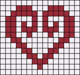 Alpha Friendship Bracelet Pattern #16943