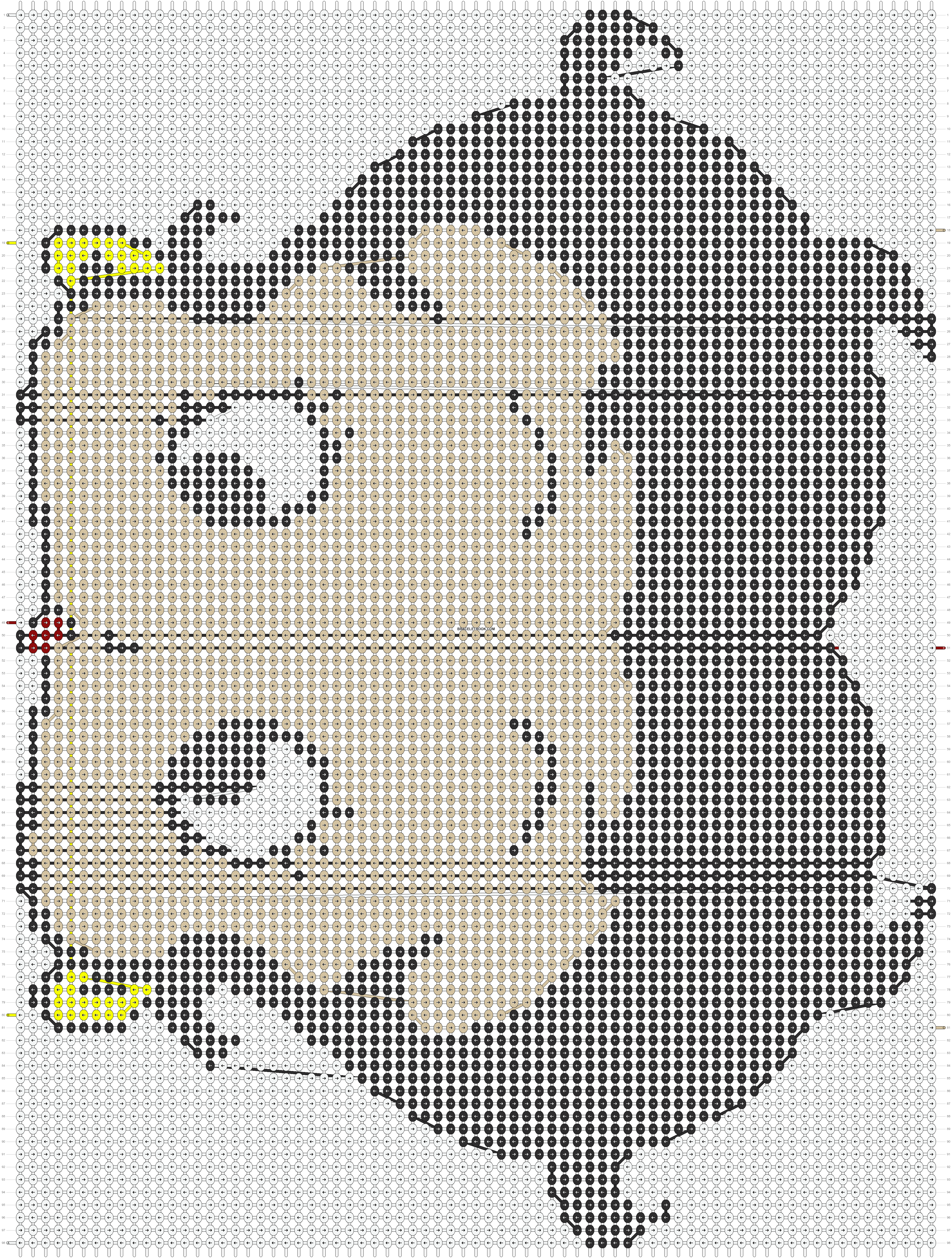 Alpha pattern #16947 pattern