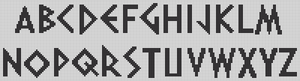 Alpha pattern #16950