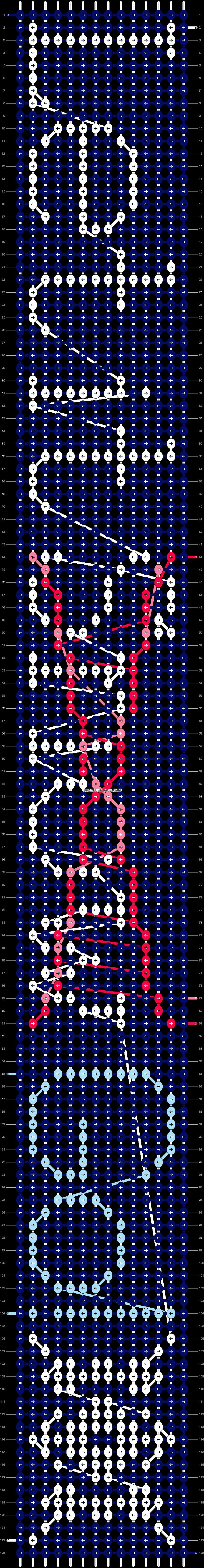 Alpha pattern #16952 pattern