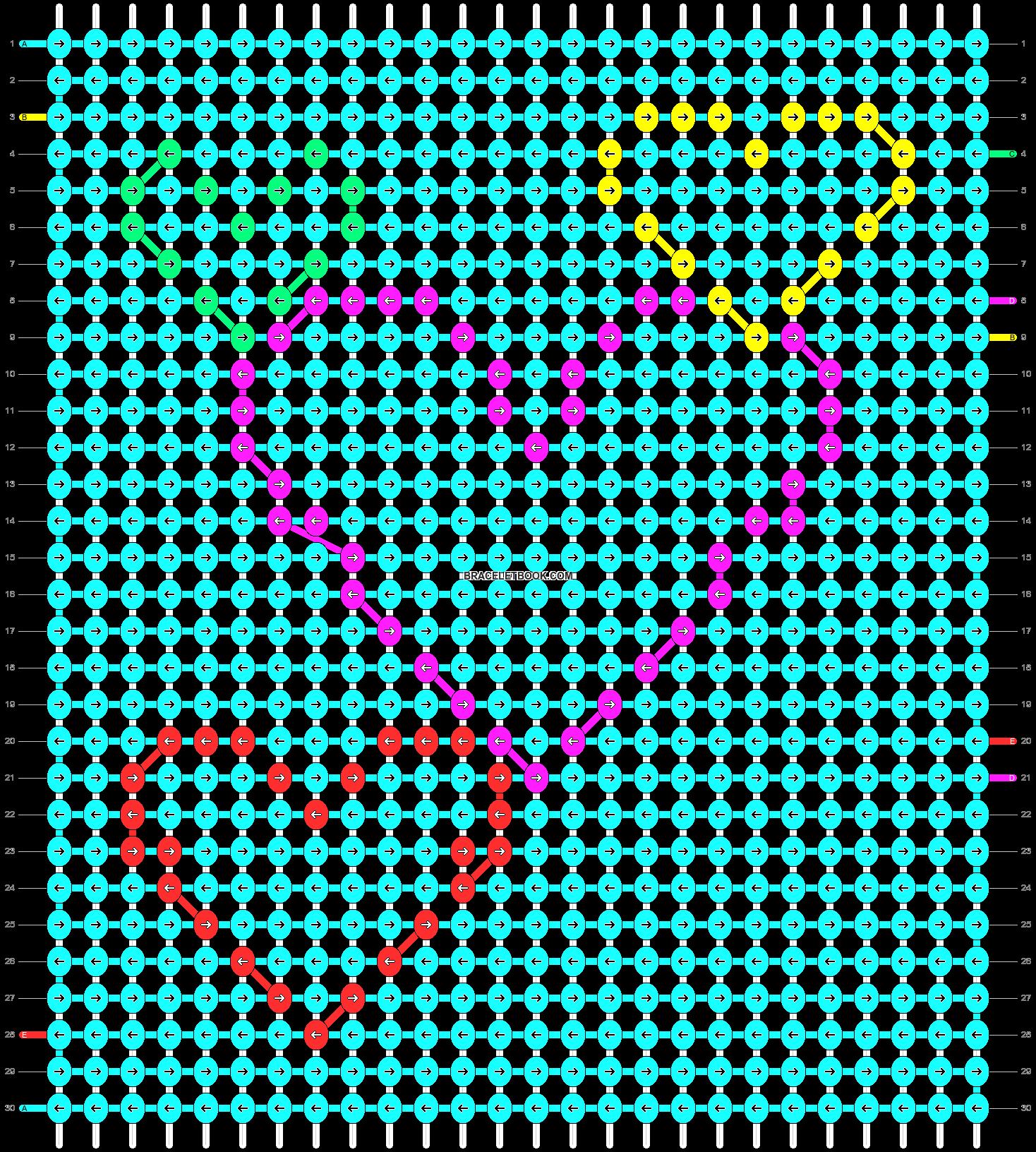 Alpha pattern #16956 pattern