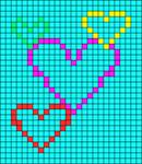 Alpha Friendship Bracelet Pattern #16956