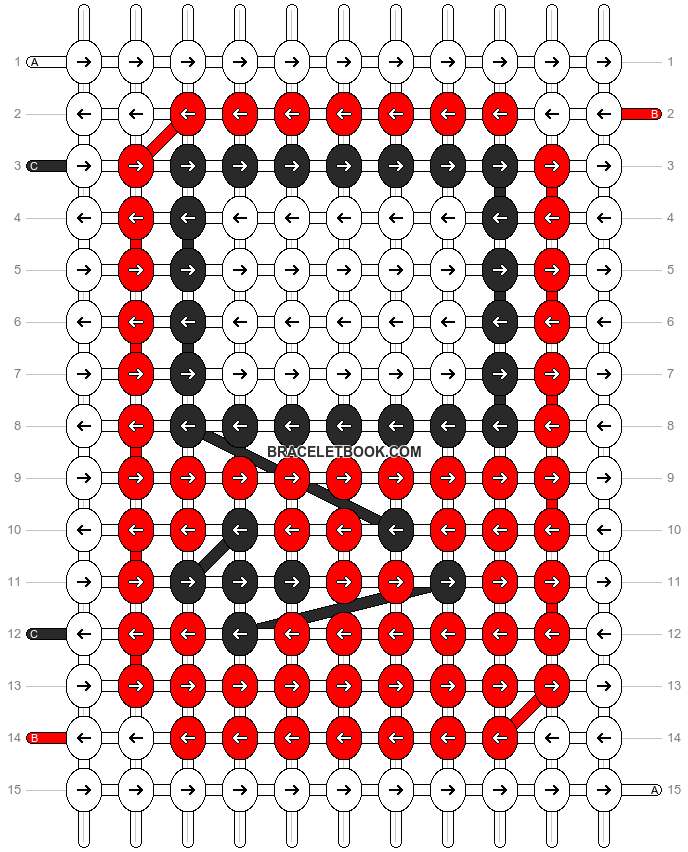 Alpha pattern #16960 pattern
